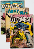 Golden Age (1938-1955):War, Comic Books - Assorted Golden Age War Comics Group of 16 (VariousPublishers, 1943-61) Condition: Average GD/VG.... (Total: 16 ComicBooks)