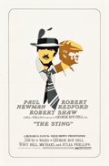 "Movie Posters:Crime, The Sting (Universal, 1973). Alternate Style One Sheet (27"" X41"").. ..."