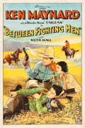 "Movie Posters:Western, Between Fighting Men (Sono Art-World Wide Pictures, 1932). One Sheet (27.25"" X 41"").. ..."