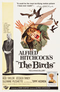 "Movie Posters:Hitchcock, The Birds (Universal, 1963). One Sheet (27"" X 41.5"").. ..."