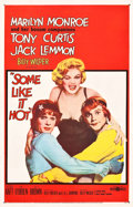 "Movie Posters:Comedy, Some Like It Hot (United Artists, 1959). One Sheet (26.75"" X41.5"").. ..."