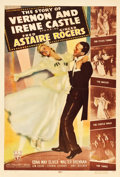 """Movie Posters:Musical, The Story of Vernon and Irene Castle (RKO, 1939). One Sheet (27"""" X 40"""") Style B.. ..."""
