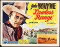 """Movie Posters:Western, Lawless Range (Republic, 1935). Title Lobby Card (11"""" X 14"""").. ..."""