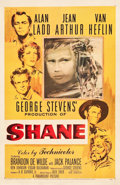 """Movie Posters:Western, Shane (Paramount, 1953). One Sheet (27"""" X 41"""").. ..."""