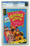 Bronze Age (1970-1979):Humor, Banana Splits #4 File Copy (Gold Key, 1970) CGC NM- 9.2 Off-white to white pages. Photo cover. Overstreet 2006 NM- 9.2 value...