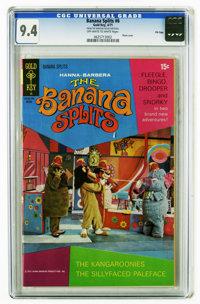 Banana Splits #6 File Copy (Gold Key, 1971) CGC NM 9.4 Off-white to white pages. Photo cover. Overstreet 2006 NM- 9.2 va...
