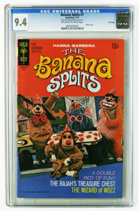 Banana Splits #7 File Copy (Gold Key, 1971) CGC NM 9.4 Off-white to white pages. Photo cover. Overstreet 2006 NM- 9.2 va...