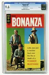 Bonanza #26 File Copy (Gold Key, 1967) CGC NM+ 9.6 Off-white pages. Photo cover. Overstreet 2006 NM- 9.2 value = $80. CG...