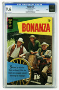 Bronze Age (1970-1979):Western, Bonanza #30 File Copy (Gold Key, 1968) CGC NM+ 9.6 Off-white pages. Photo cover. Overstreet 2006 NM- 9.2 value = $80. CGC ce...