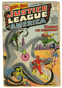 The Brave and the Bold #28 Justice League of America (DC, 1960) Condition: FR. The first appearance of the Justice Leagu...