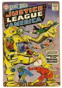 The Brave and the Bold #29 Justice League of America (DC, 1960) Condition: GD+. Second appearance JLA and Snapper Carr...