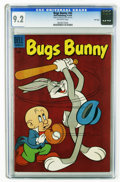 Silver Age (1956-1969):Humor, Bugs Bunny #42 File Copy (Dell, 1956) CGC NM- 9.2 Off-white pages. No copy of this issue has been graded higher by CGC to da...