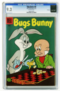 Golden Age (1938-1955):Cartoon Character, Bugs Bunny #49 File Copy (Dell, 1956) CGC NM- 9.2 Off-white pages. Overstreet 2006 NM- 9.2 value = $55. CGC census 4/06: 3 i...