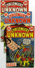 Bronze Age (1970-1979):Science Fiction, Challengers of the Unknown #78, 79, and 80 Group (DC, 1973) Condition: Average FN+. This group of Challengers of the Unkno... (Total: 22)