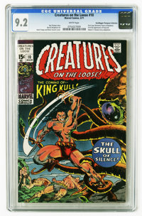 Creatures on the Loose #10 (Marvel, 1971) CGC NM- 9.2 White pages. First issue with this title. First full appearance of...