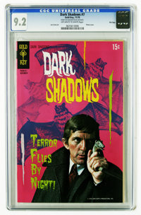 Dark Shadows #7 File Copy (Gold Key, 1970) CGC NM- 9.2 Off-white to white pages. Last photo cover. Joe Certa art. Overst...