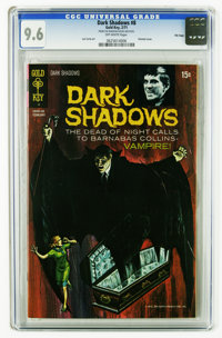 Dark Shadows #8 File Copy (Gold Key, 1971) CGC NM+ 9.6 Off-white pages. Painted cover. Joe Certa art. Overstreet 2005 NM...