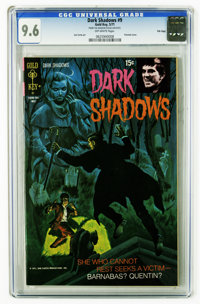 Dark Shadows #9 File Copy (Gold Key, 1971) CGC NM+ 9.6 Off-white pages. Painted cover. Joe Certa art. Overstreet 2006 NM...