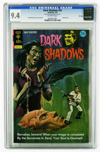 Dark Shadows #24 File Copy (Gold Key, 1974) CGC NM 9.4 Off-white pages. Arnold Drake story. Joe Certa art. Painted cover...