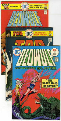 DC Bronze Age Group (DC, 1974-76) Condition: Average FN/VF. A variety of titles from DC's Bronze Age are featured in thi...