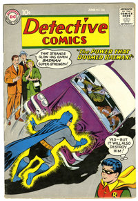 Detective Comics #268 (DC, 1959) Condition: FN. Batman and Robin cover by Curt Swan. J'onn J'onzz, Manhunter from Mars b...