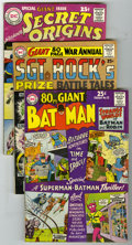 80 Page Giant Group (DC, 1961-65). Group of four DC eighty page issues. Included are Secret Origins #1 (origins of Adam...
