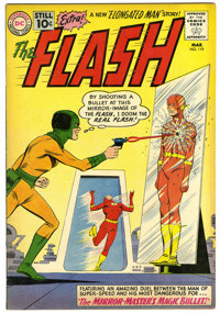 The Flash #119 (DC, 1961) Condition: FN/VF. The Flash battles the Mirror-Master. Elongated Man marries Sue Dearborn. Car...