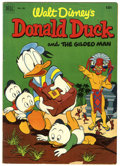 Golden Age (1938-1955):Humor, Four Color #422 Donald Duck and the Gilded Man (Dell, 1952) Condition: VG+. Art by Carl Barks. Overstreet 2006 VG 4.0 value ...