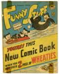 Golden Age (1938-1955):Funny Animal, Funny Stuff Wheaties Giveaway (DC, 1946) Condition: FN. This is aunique and hard to find giveaway from DC. Overstreet notes...