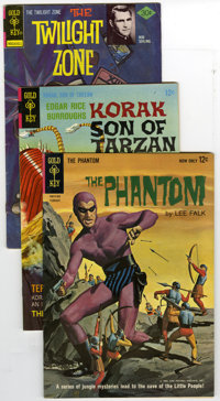 Gold Key/Dell Silver/Bronze Age Group (Gold Key/Dell, 1966-76) Condition: Average VG. Twelve comics comprise this lot. I...