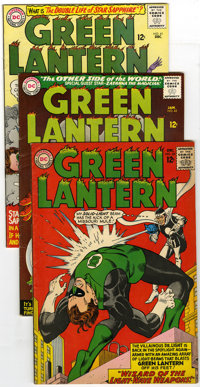 Green Lantern Group (DC, 1964-70) Condition: Average FN/VF. This group of ten Green Lantern comics includes #33, 41, 42...