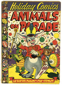 Holiday Comics #2 (Star Publications, 1951) Condition: GD/VG. Classic L. B. Cole cover. Overstreet 2006 GD 2.0 value = $...