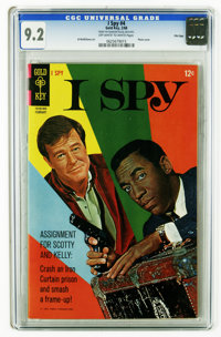 I Spy #4 File Copy (Gold Key, 1968) CGC NM- 9.2 Off-white to white pages