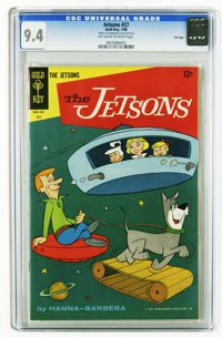 The Jetsons #27 File Copy (Gold Key, 1968) CGC NM 9.4 Off-white to white pages. Overstreet 2006 NM- 9.2 value = $80. CGC...