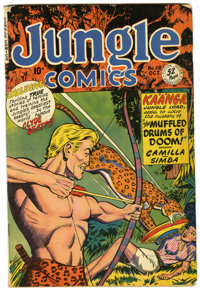 Jungle Comics #118 (Fiction House, 1949) Condition: VG+. Clyde Beatty appearance. Overstreet 2006 VG 4.0 value = $40