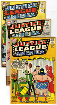 Justice League of America Group (DC, 1961-64) Condition: Average VG/FN. This great group of early Justice League of Amer...
