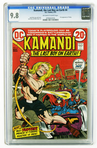 Kamandi, the Last Boy on Earth #4 (DC, 1973) CGC NM/MT 9.8 Off-white to white pages. First appearance of Prince Tuftan o...