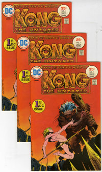 Kong the Untamed #1 and 2 Multiple Copies Group (DC, 1975) Condition: Average FN/VF. The first appearance of Kong is fea...