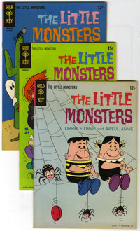 Little Monsters Group (Gold Key, 1965-71) Condition: Average NM-. This group is a box of 99 Little Monsters comics and i...