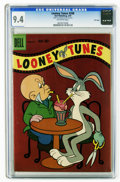 Silver Age (1956-1969):Cartoon Character, Looney Tunes and Merrie Melodies Comics #208 File Copy (Dell, 1959) CGC NM 9.4 Off-white pages. This is the highest CGC grad...
