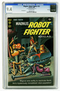 Silver Age (1956-1969):Superhero, Magnus Robot Fighter #23 File Copy (Gold Key, 1968) CGC NM 9.4 Off-white pages. Painted cover. Dan Spiegle art. Overstreet 2...