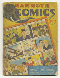 Mammoth Comics #1 (Whitman Publishing Co., 1938) Condition: Fair. This scarce early comic book includes reprints of the...