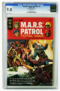 M.A.R.S. Patrol Total War #5 File Copy (Gold Key, 1968) CGC NM/MT 9.8 Off-white pages. Painted cover. Highest CGC grade...