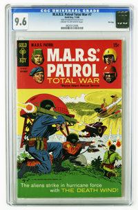 M.A.R.S. Patrol Total War #7 File Copy (Gold Key, 1968) CGC NM+ 9.6 Cream to off-white pages. Highest CGC grade for this...