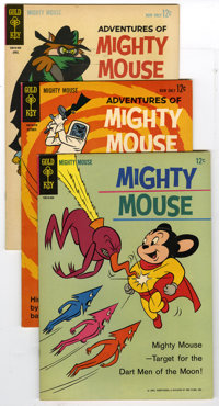 Mighty Mouse Group (20th Century Fox, 1963-65) Condition: Average VF/NM. Four Mighty Mouse books in this group including...