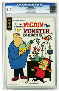 Milton the Monster and Fearless Fly #1 File Copy (Gold Key, 1966) CGC NM 9.4 Off-white to white pages. This is the highe...