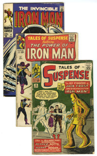 Miscellaneous Silver, Bronze, and Modern Age Box Lot (Various, 1958-93) Condition: Average VG. A Tales of Suspense run i...