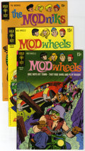 "Bronze Age (1970-1979):Cartoon Character, Mod Wheels/Modniks File Copies Box Lot (Gold Key, 1967-74)Condition: Average VF/NM. This very hip box lot of ""Mod"" comicsc..."