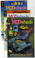 Mod Wheels Group (Gold Key, 1971-74) Condition: Average NM-. This box lot of 100 books contains multiple copies of Mod W...