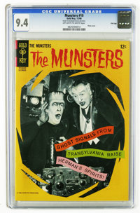 Munsters #10 File Copy (Gold Key, 1966) CGC NM 9.4 Off-white to white pages. Photo cover. Overstreet 2006 NM- 9.2 value...